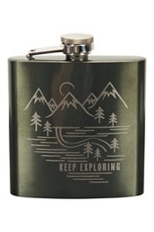 Keep Exploring Hip Flask - 170ml