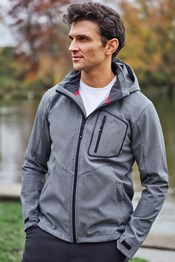 Glover Textured Mens Softshell Jacket
