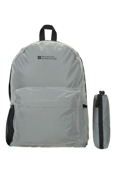 Bookworm Reflective 20L Backpack - Silver