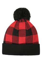 Bonnet Check Homme