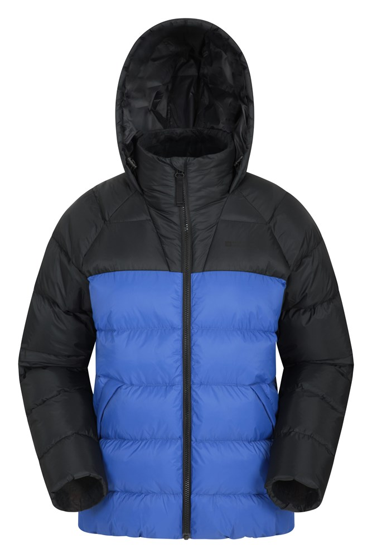 Charge Bomber - pikowana kurtka damska - Blue