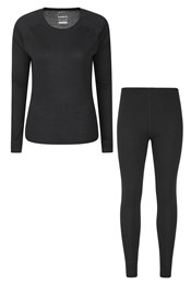 Talus Womens Baselayer Top & Pants Set