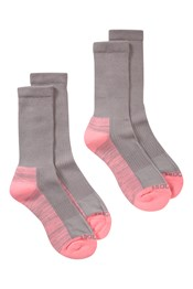 IsoCool Womens Hiker Socks Multipack