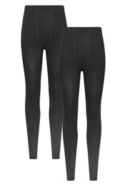 IsoTherm Brushed Womens Leggings - Multipack