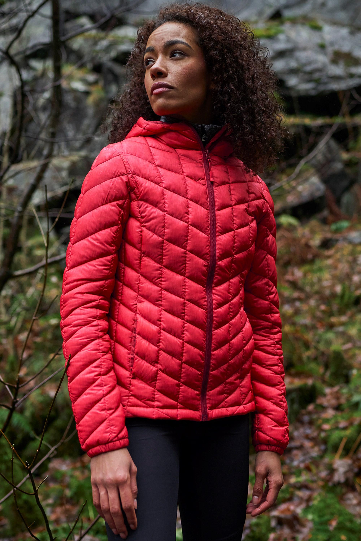 Speed - pikowana kurtka damska - Red