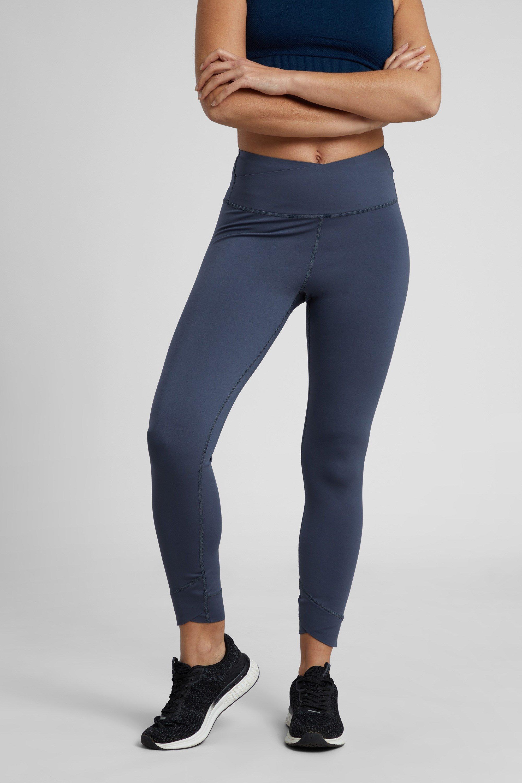 Yoga Cross Over - legginsy damskie - Grey