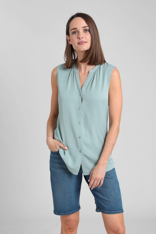 Amalfi - koszula damska - Green