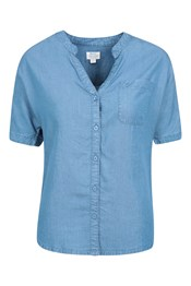 Ayr Chambray-Hemd Damen