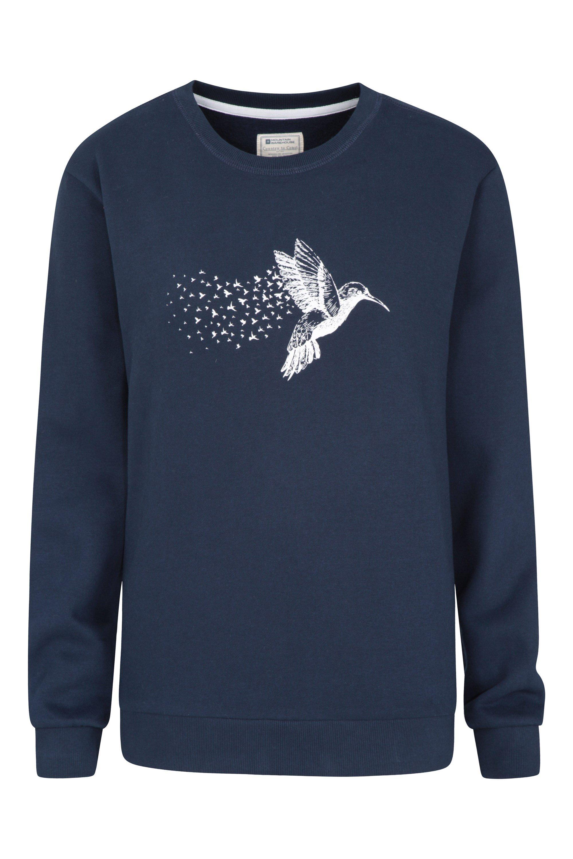 Cosy Sweatshirt - sweter damski - Navy