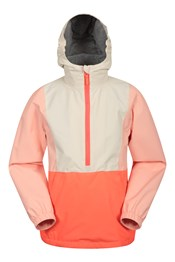 038414 COLOUR BLOCK KIDS PULL OVER WATER RESISTANT JACKET