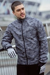 360° Reflective Camo Mens Jacket
