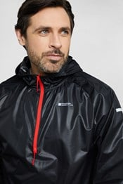 Optic Mens Water Resistant Running Jacket