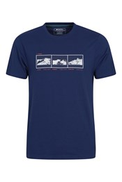 3 Peaks Organic Cotton Mens T-Shirt