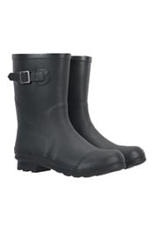 Womens Mid-Height Rubber Wellies