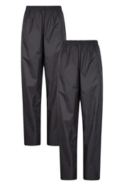 Pakka Womens Lightweight Waterproof Overtrousers - Multipack