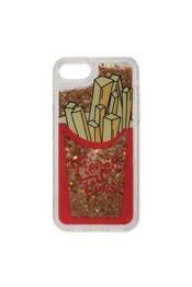 Neon Sheep Glitter French Fries iPhone Cover