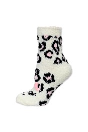 Neon Sheep Animal Fluffy Ankle Socks