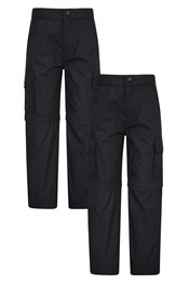 Active Kids Zip-Off Trousers - Multipack
