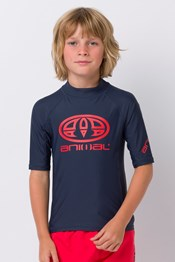 Animal Hiltern Boys Rash Vest