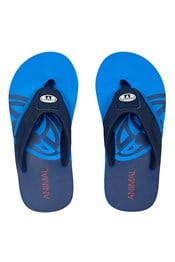 Animal Jekyl Slice Boys Flip-Flops