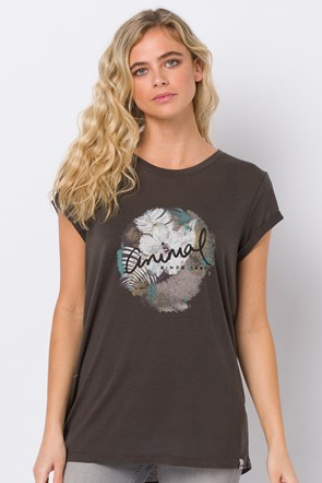 Animal Tropical Night Womens Tee