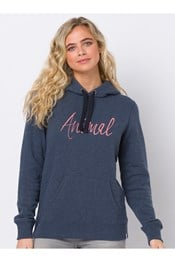 Animal Sketched Womens Hoodie