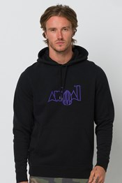 Animal Galves Mens Hoodie
