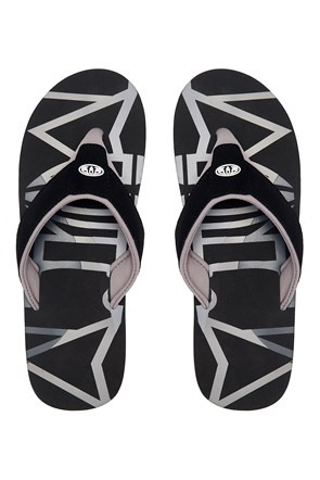 Animal Bazil Logo Mens Flip-Flop