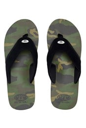 Animal Jekyl Aop Mens Flip-Flops