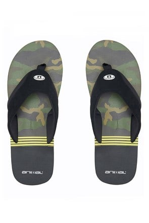 Animal Jekyl Swim Mens Flip-Flops