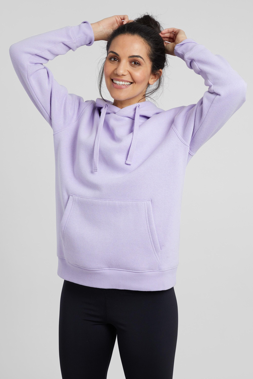 Luxe Yoga - bluza z kapturem damska - Purple