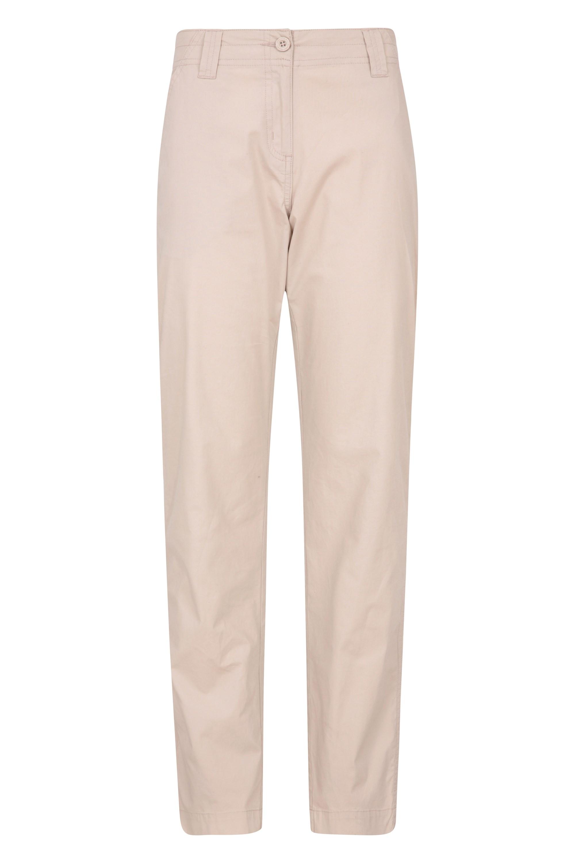 Coastal Stretch - spodnie damskie 74cm - Beige