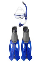 Speedo Glide Adult  Mask, Snorkel & Fin Set