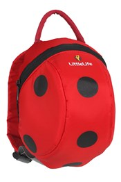 LittleLife Toddler Backpack - Ladybird
