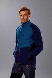 Ultra Endeavour Mens Padded Fleece Jacket