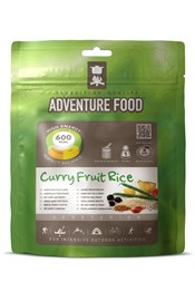 Adventure Food Curry Fruit and Rice