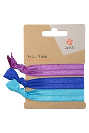 Zakti Womens Hair Ties - 3 Pk