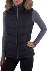 Cosy To The Core Womens Down Padded Gilet
