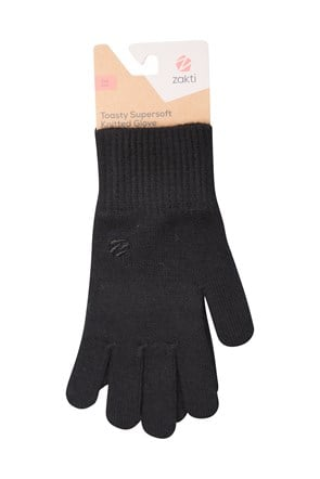 Toasty Supersoft Knitted Gloves