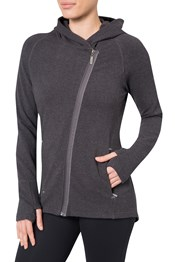 Zakti Perfect Asymmetry Womens Hoodie