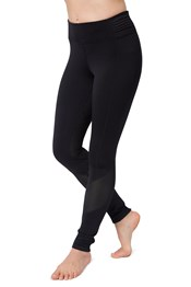 Zakti Dashing Womens Thermal Run Tights
