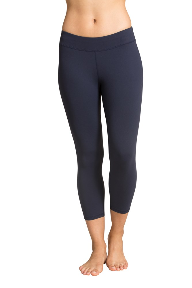 Soft Touch Capri Leggings - Navy