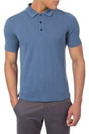 Zakti Freely Merino Mens Polo