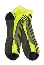 Zakti Mens Run Tech Trainer Socks
