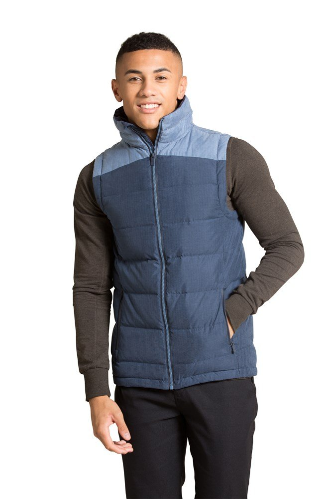 Arctic Down Padded Gilet - Navy