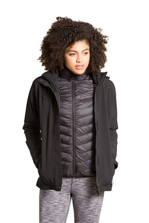 Tuned To Your Temperature 3 In 1 Down Jacket