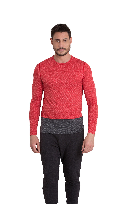 Zakti Turbo Long Sleeve Tee Red