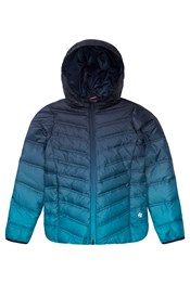Zakti Kids Snuggle Ombre Down Jacket
