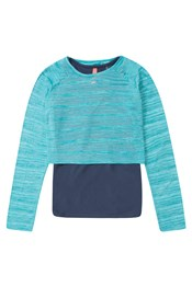 Zakti Kids Long Sleeve Double Take Tee