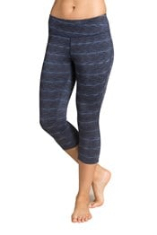 Zakti Bend And Flex Womens Capri Leggings